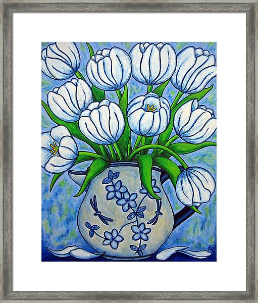 Tulip Tranquility Framed Print