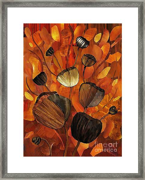 Tulips And Violins Framed Print