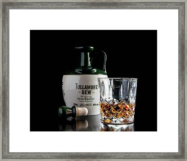 Tullamore D.e.w. Still Life Framed Print