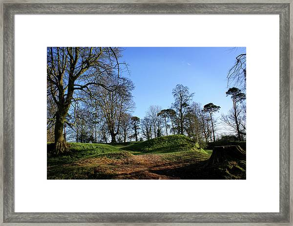 Tullyhogue Fort, Cookstown. Framed Print