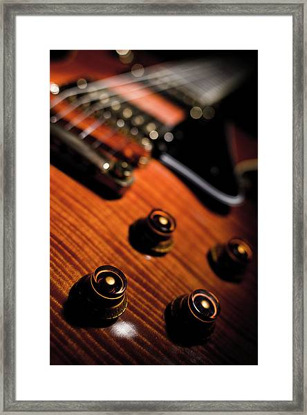 Tune Into Focus Framed Print