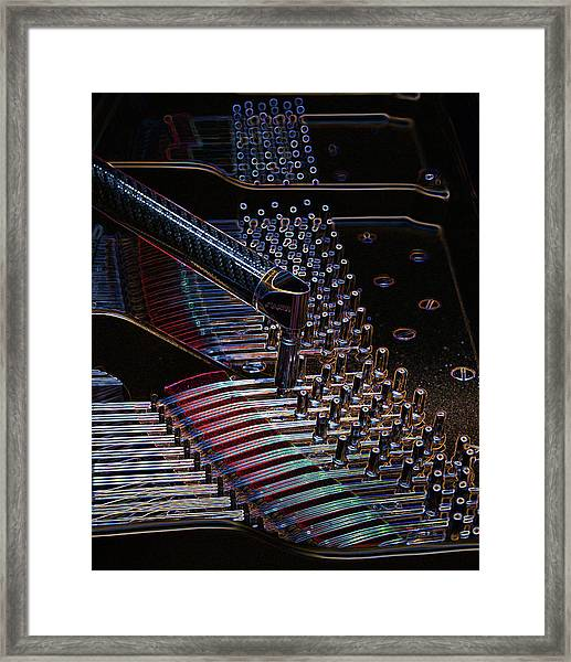 Tuning A Steinway For Jazz Framed Print