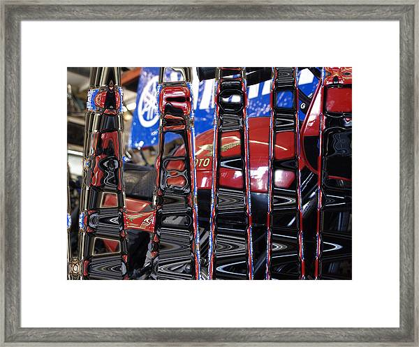Tuning In Framed Print