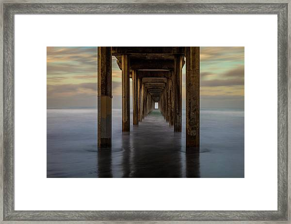 Tunnelscape Framed Print