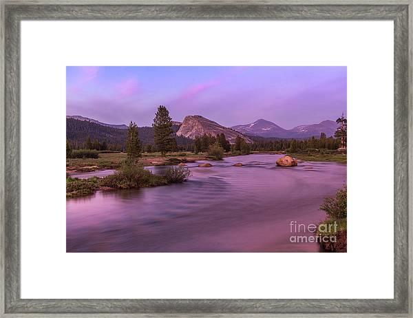 Tuolumne Meadow Framed Print