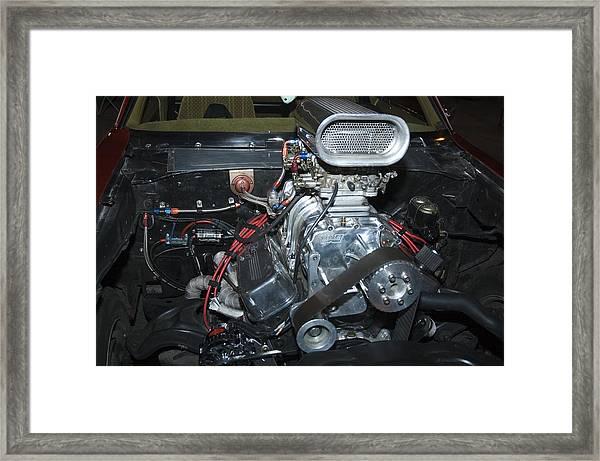 Turbocharger Framed Print