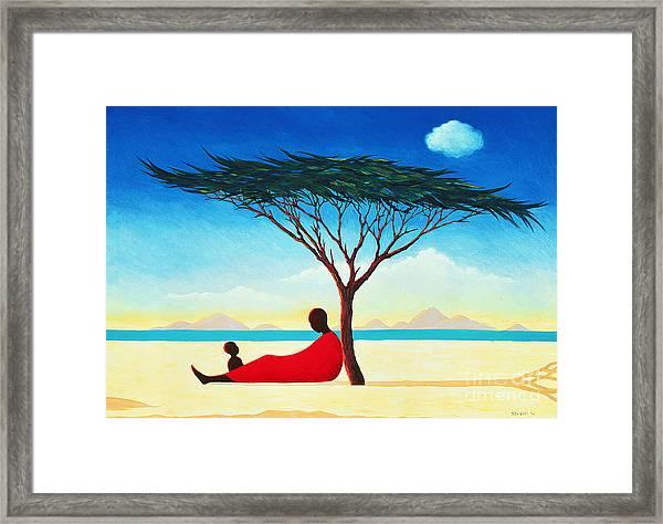 Turkana Afternoon Framed Print