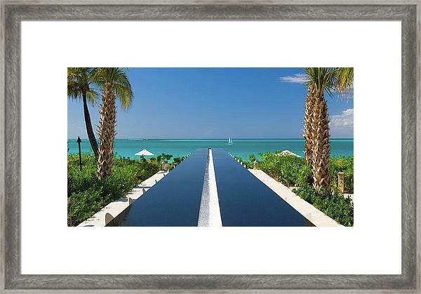 Turks And Caicos Framed Print