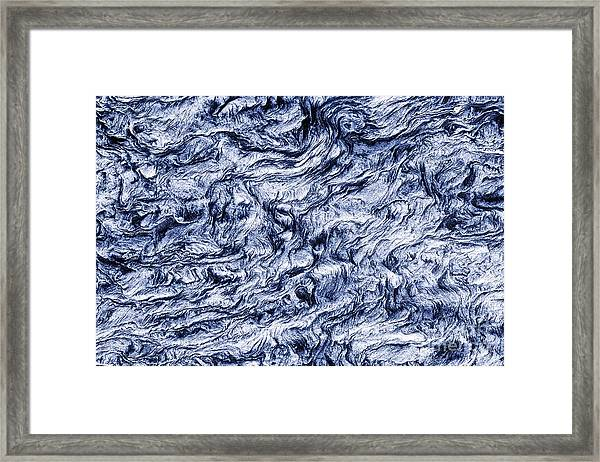 Turn Of A Wave Framed Print
