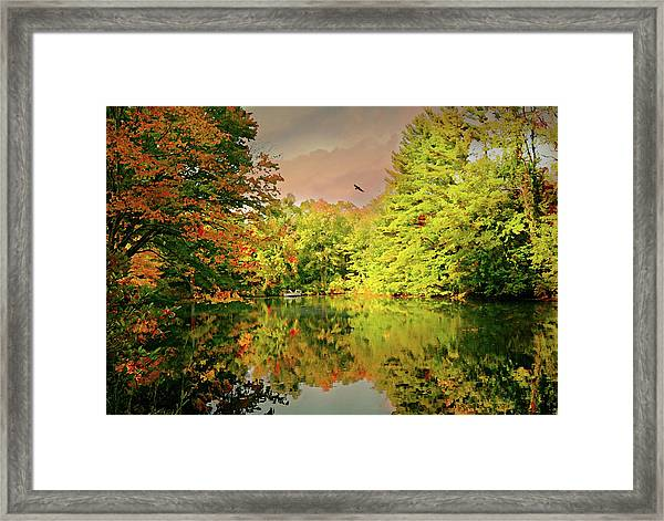 Turn Of River Framed Print