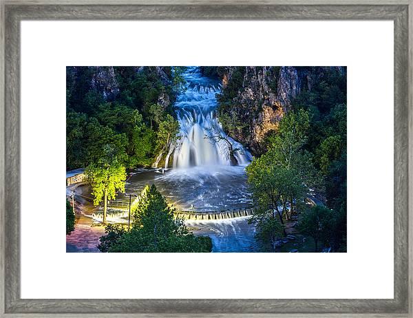 Turner Falls Oklahoma Framed Print