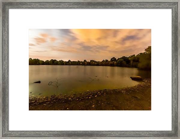 Turners Pond After Dark Framed Print