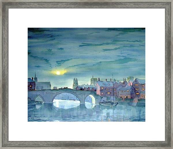 Turner's York Framed Print