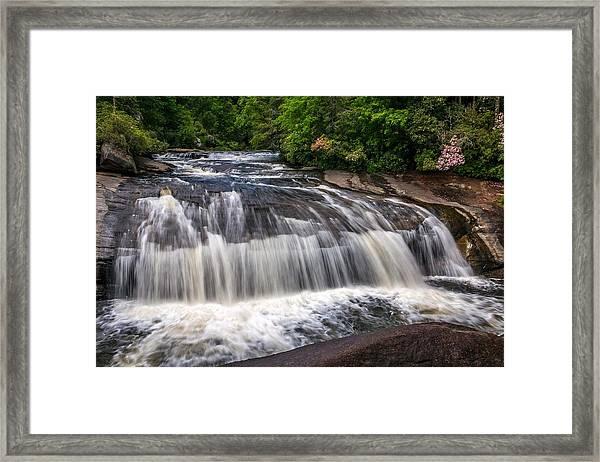Turtleback Falls Framed Print