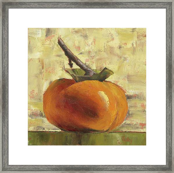 Tuscan Persimmon Framed Print