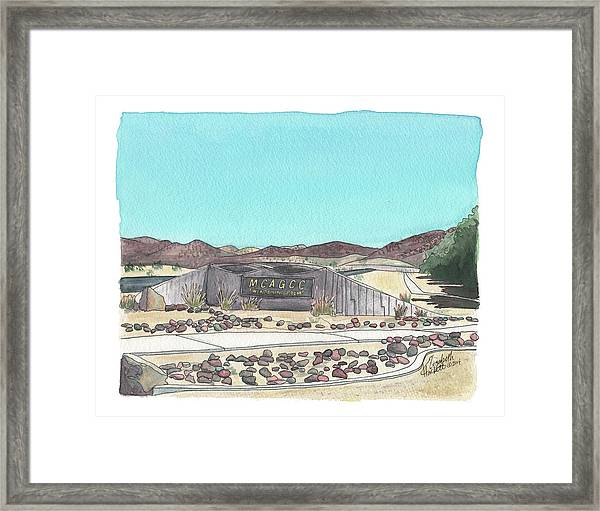 Twentynine Palms Welcome Framed Print