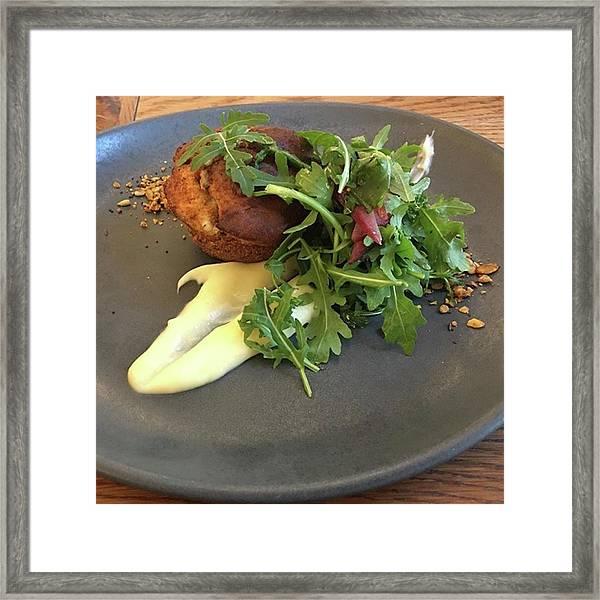 Twice Baked Binham Blue Cheese & Walnut Framed Print