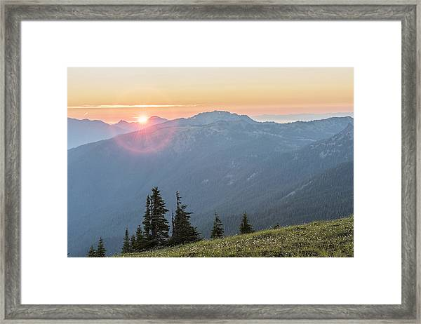 Twilight Is Coming Framed Print by Jon Glaser