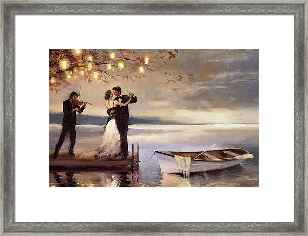 Twilight Romance Framed Print