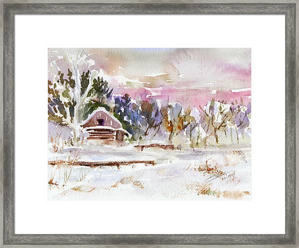 Twilight Serenade I Framed Print