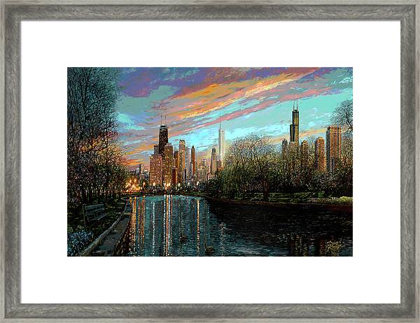 Twilight Serenity II Framed Print