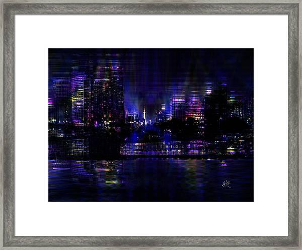 Twilight Time Framed Print