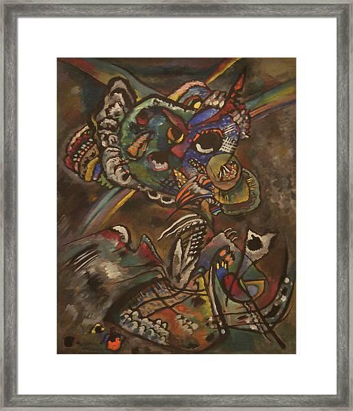 Twilight Framed Print by Wassily Kandinsky