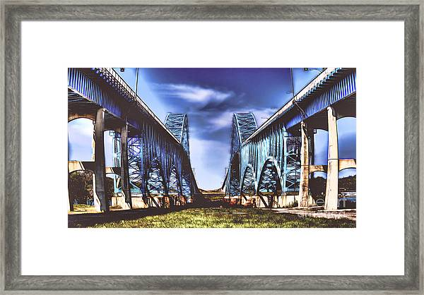 Twin Spanned Arched Framed Print