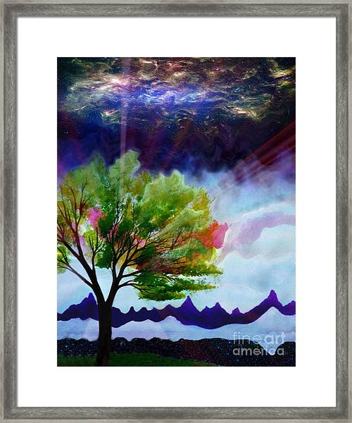 Twlight Framed Print