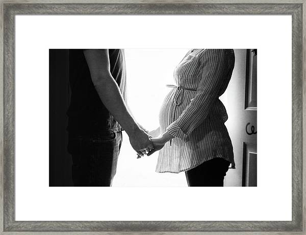 Two Becomes Three Framed Print
