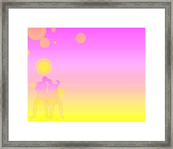Two Dance Framed Print