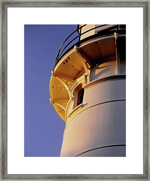Two Lights, Cape Elizabeth Framed Print