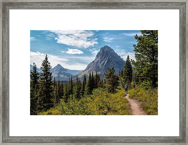 Two Medicine Valley Framed Print
