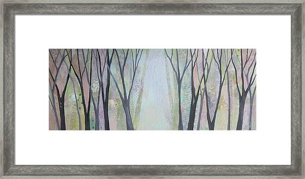 Two Roads I Framed Print