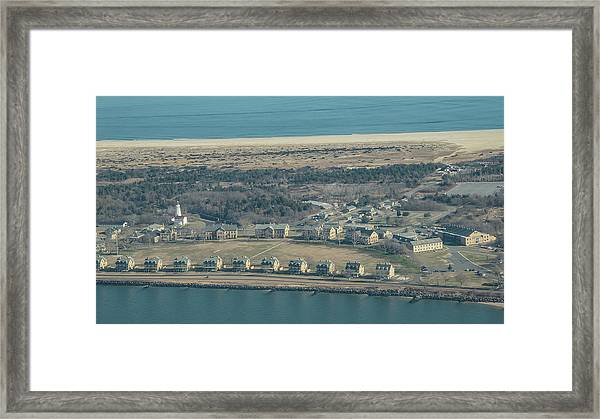Two Sides Of Officers Row Framed Print