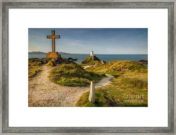 Twr Mawr Lighthouse Framed Print