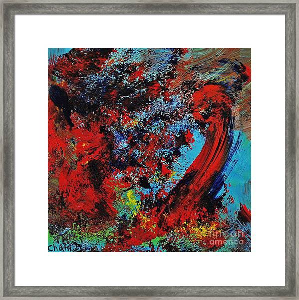 Typhoon Framed Print