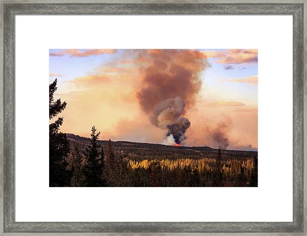 Uinta Burn Framed Print