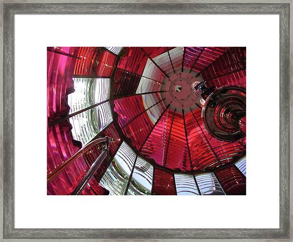 Umpqua River Red Framed Print