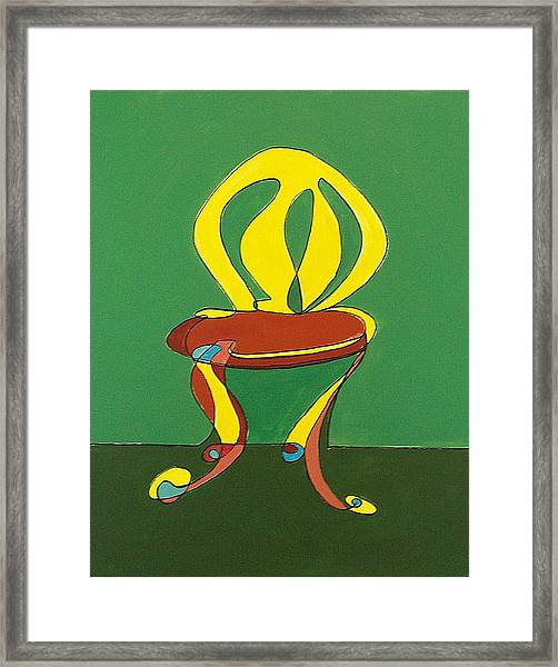 Un-sittable Vii Framed Print