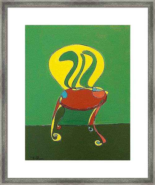 Un-sittable Viii Framed Print