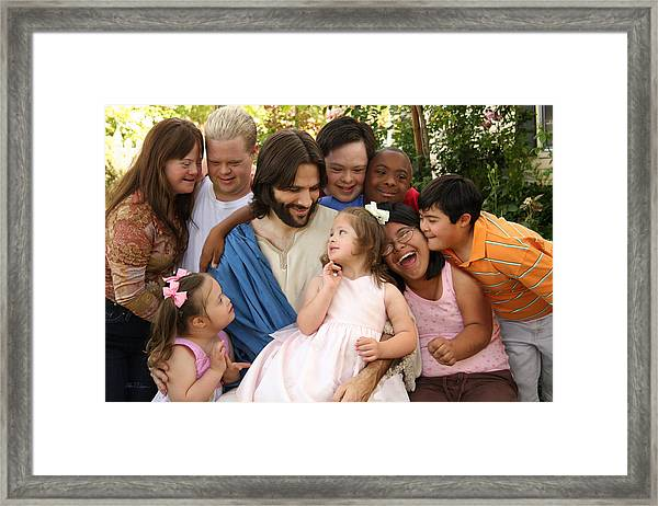 Unconditional Love Framed Print