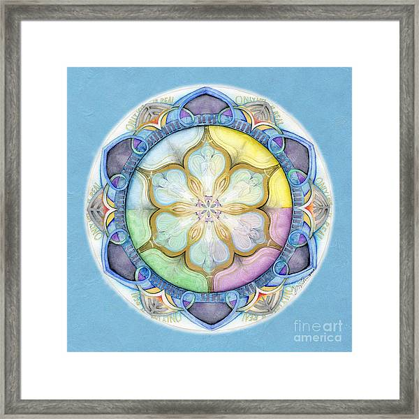 Unconditional Mandala Framed Print