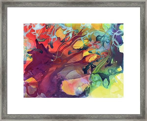 Uncontrolled Framed Print