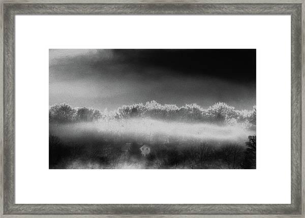 Under A Cloud Framed Print