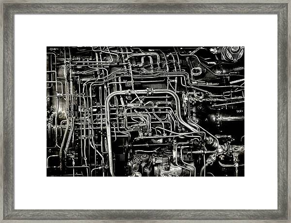 Under The Hood Framed Print