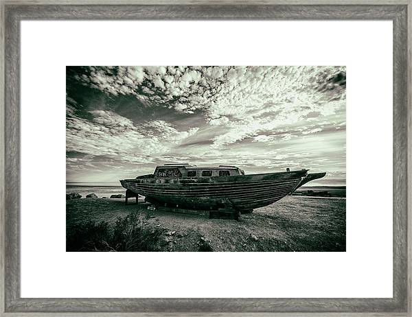 Under The Salton Sky Framed Print