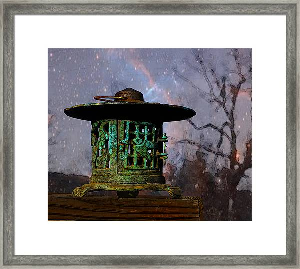 Under The Stars Framed Print
