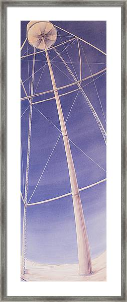 Under The Water Tower Framed Print