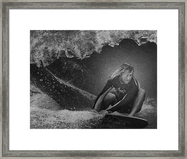 Under The Wedge 1 Framed Print